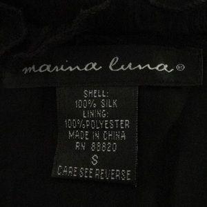 Marina Luna Tops - 5 for $25| Marina Luna Silk Sleeveless Blouse